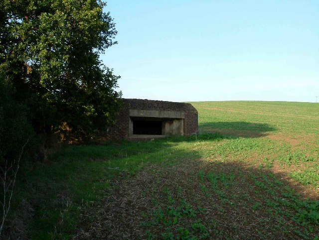 Gun Emplacement near Bowers Hall