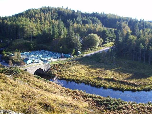 Duartmore House and Bridge 2005