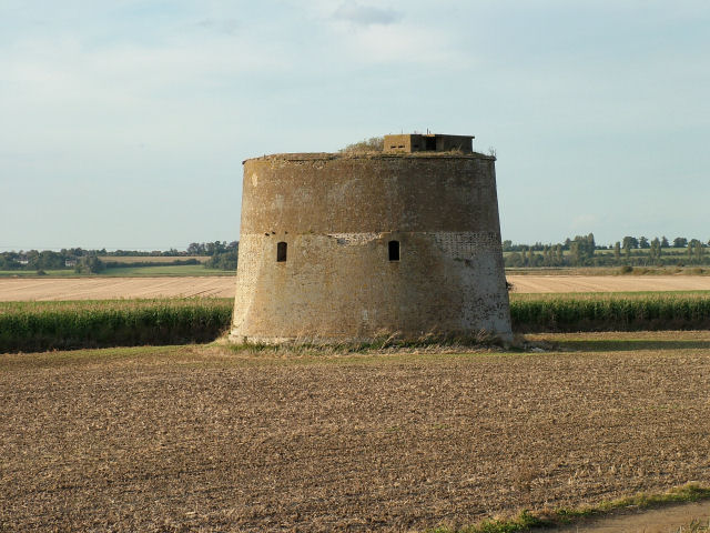 Martello Tower with added Pillbox