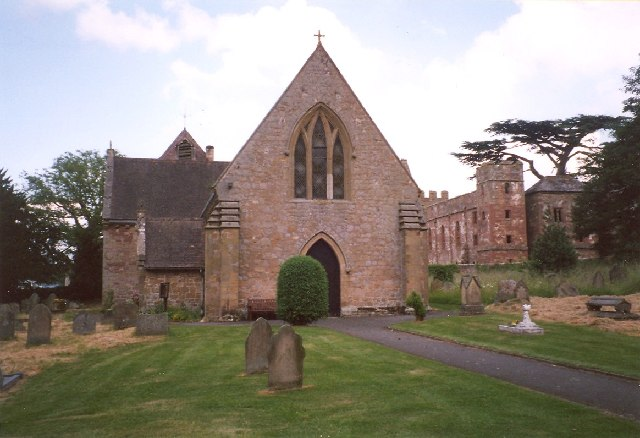 Acton Burnell Church and Castle