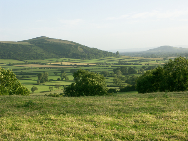 Looking SSE from Winthill, near Banwell