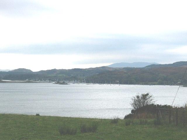 Loch Craignish with Ardfern in the background, Argyllshire