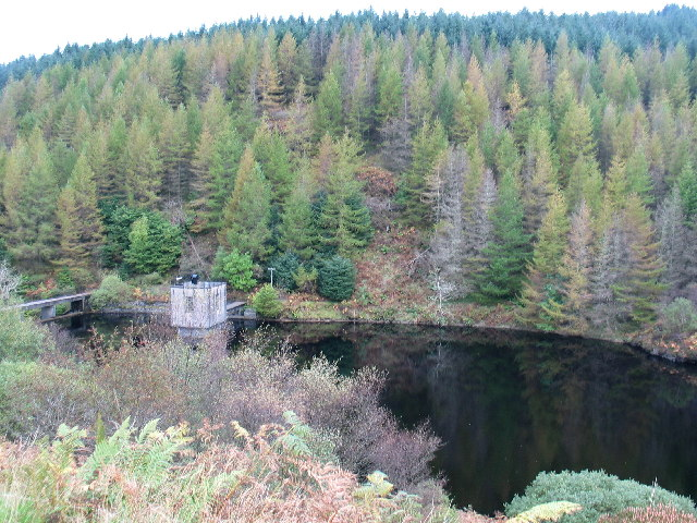Oude Dam near Melfort, Argyll.