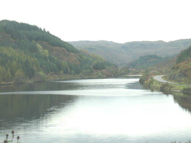 Oude Dam, Argyll.