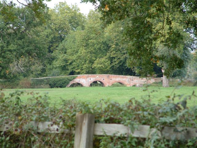 The Bridge to Swallowfield Park
