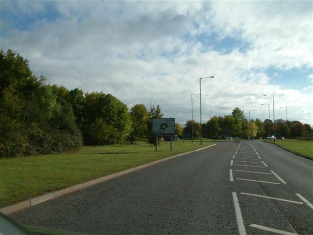 Arborfield Garrison Roundabout