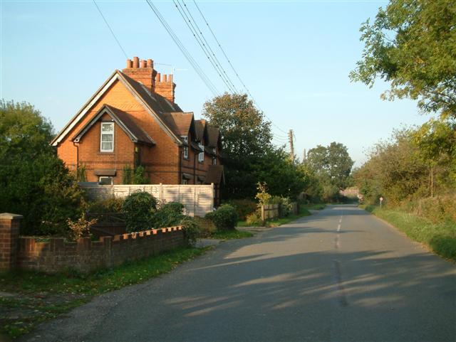 Cottages, Binfield Heath