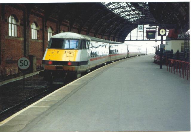 Platform 4, Darlington Bank Top station