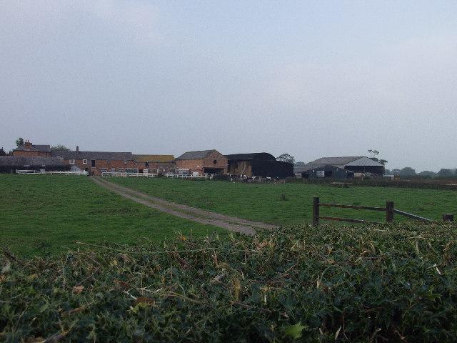 Firs Farm near Owrtyn