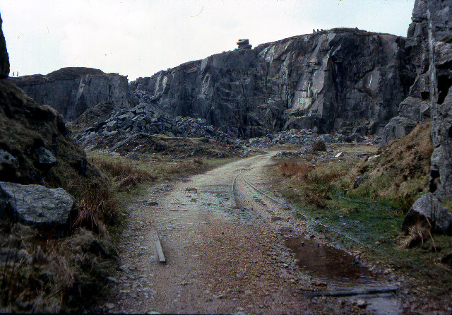 Cheesewring Quarry, 1979
