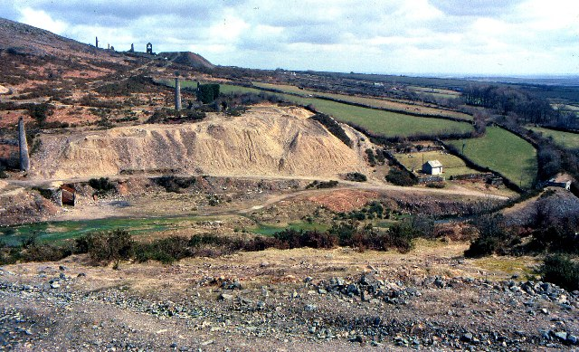 South Caradon Mine workings 1979