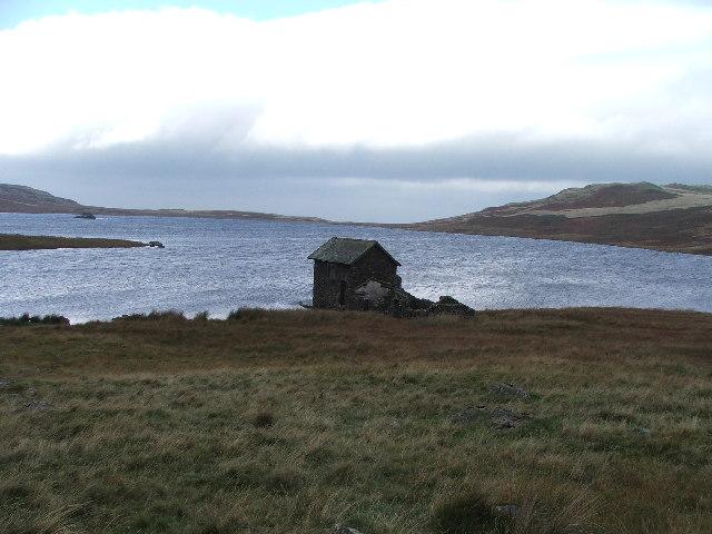 Boathouse on Devoke Water.