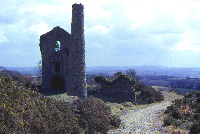 Mine Engine house, South Caradon. 1979
