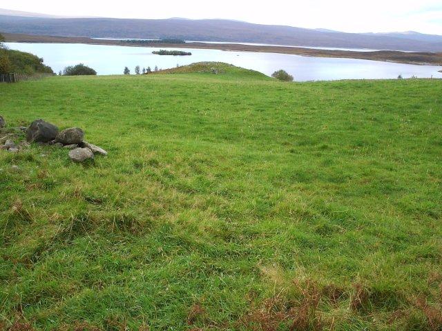 A Broch on the side of Loch Shin