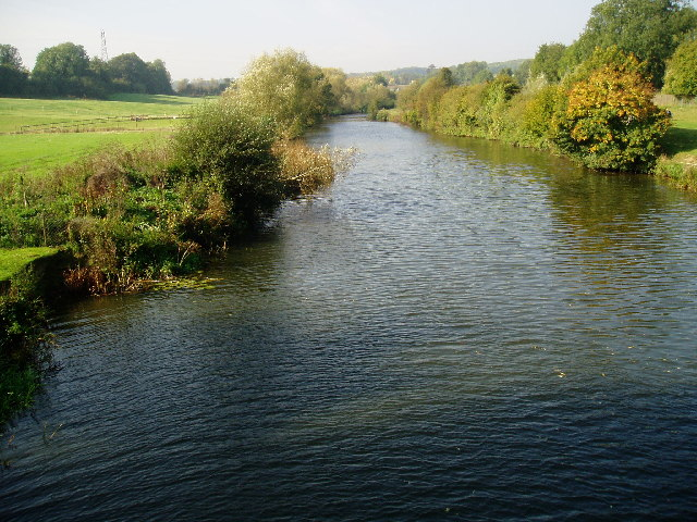 River Medway from Barming Bridge