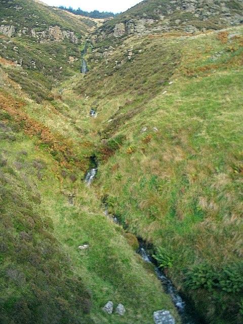 Waterfalls on Nant y Bwlch