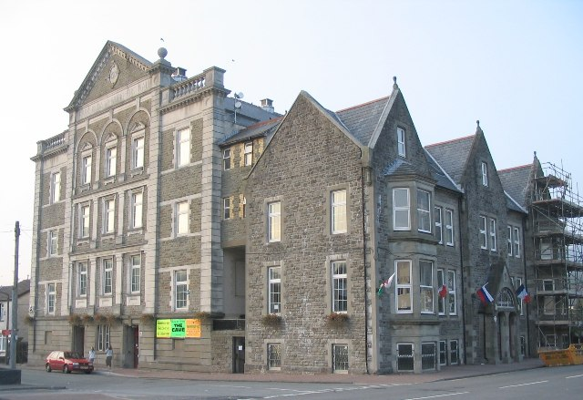 Park And Dare Hall, Treorchy
