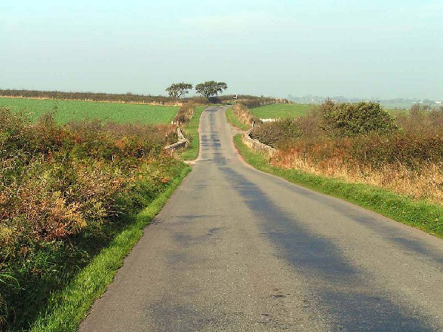 Country road west of Wigton