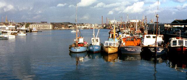 Sutton Harbour, 1979