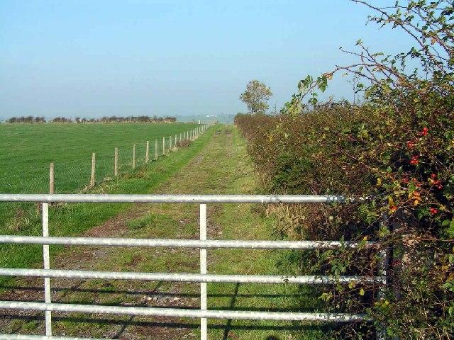 Lane near High Scales