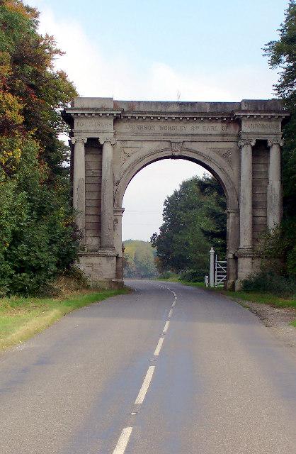 Yarborough Memorial Arch
