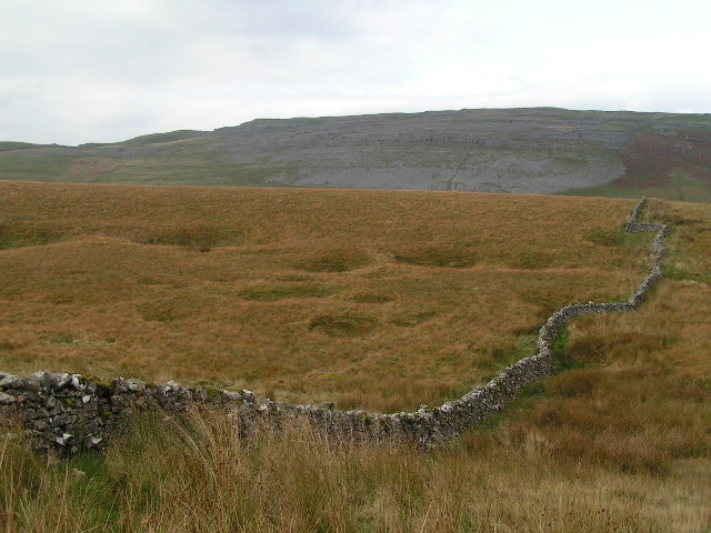 Shakeholes above Kingsdale