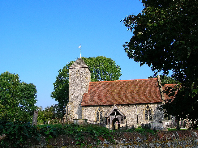 13th Century Church, Kingston Near Lewes