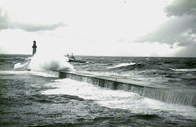 South Breakwater, Aberdeen Harbour.