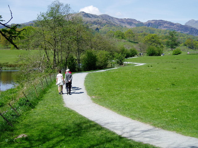 Between Elterwater and Skelwith Bridge