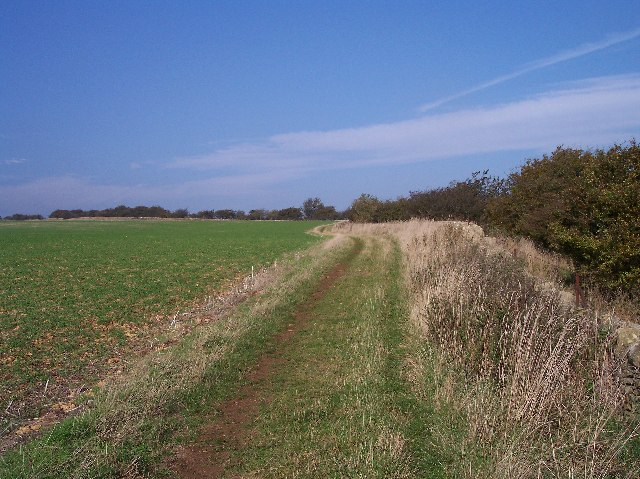 Wychavon Way on Bredon Hill