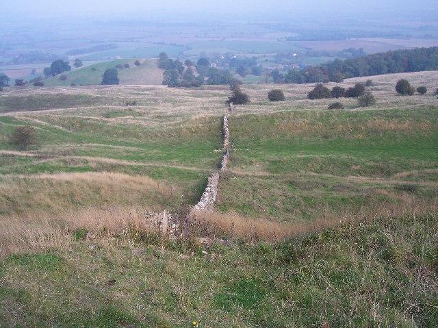 Dry Stone Wall, Bredon Hill