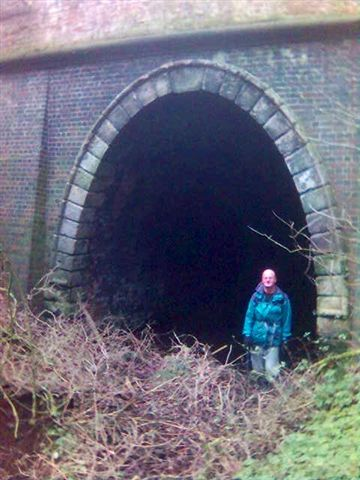 Disused tunnel, Nr Bramshall, North Staffs
