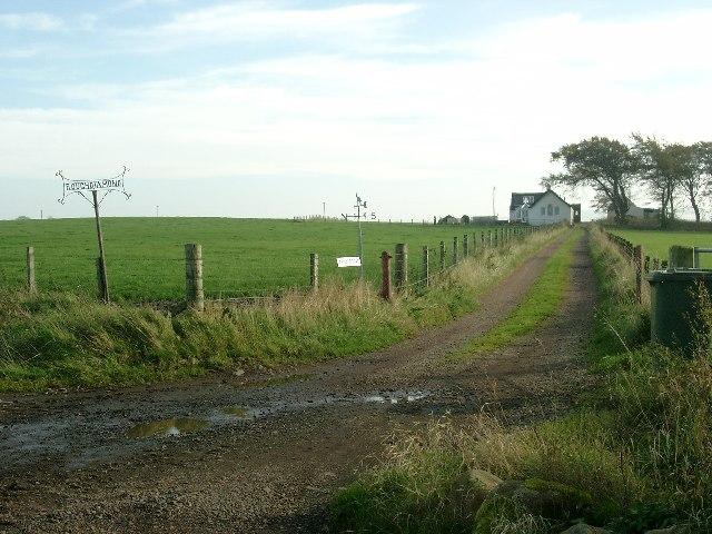 Roughdiamond Farm roadend