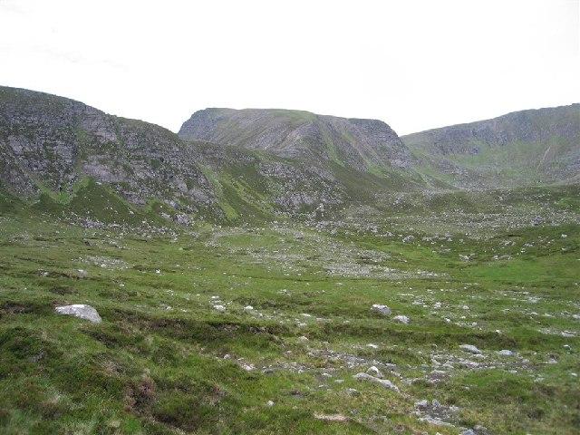 Slioch from Coire na Sleaghaich