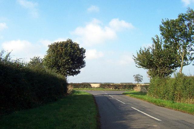 Road Junction Near Odessa