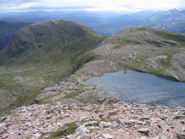 Sgurr Dubh and Lochan on Slioch