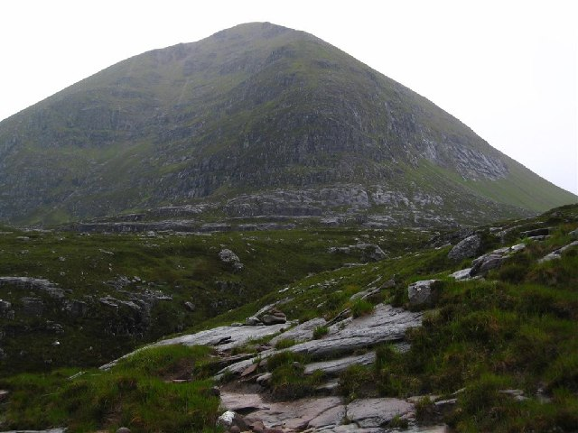 Below Glas Mheall Mor