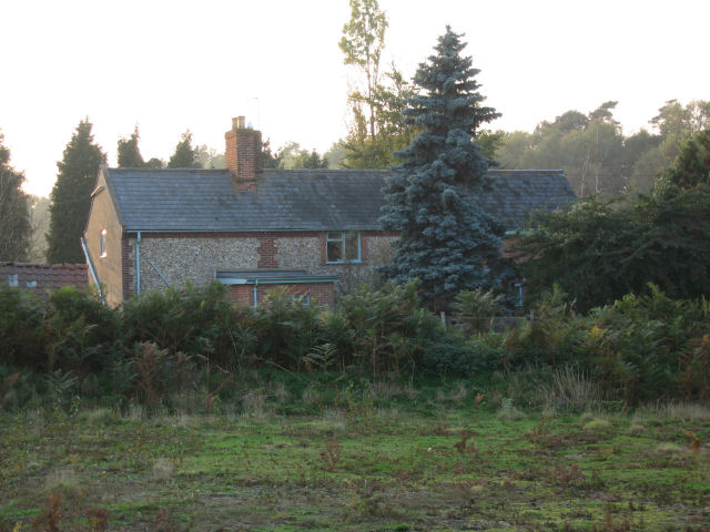Cottage on Blaxhall Common