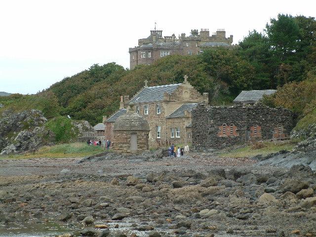 Culzean Harbour and Castle