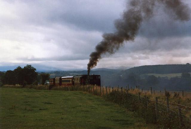 Castle Caereinon: Welshpool and Llanfair Light Railway