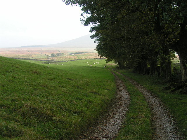 The track to Broadrake