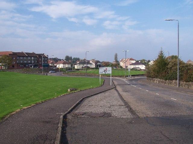 Port Glasgow, Boglestone Roundabout