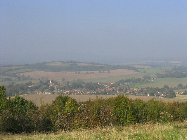 South Harting from Harting Down