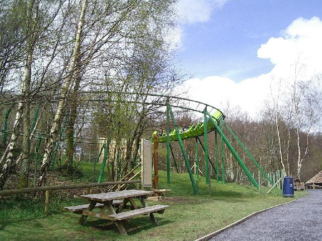 Rollercoaster at Gelli Gyffwrdd