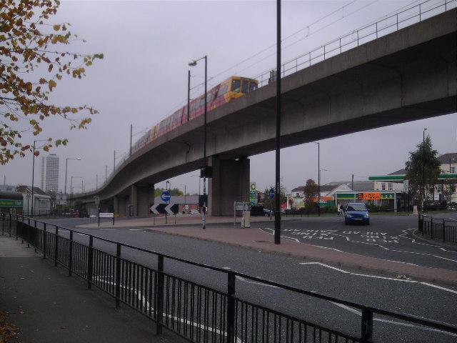 Byker Metro Flyover