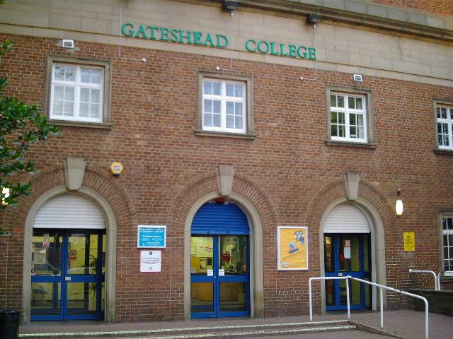 Gateshead College Main Entrance