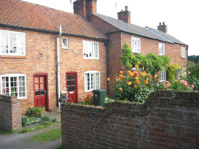 Terraced cottages, Hickling