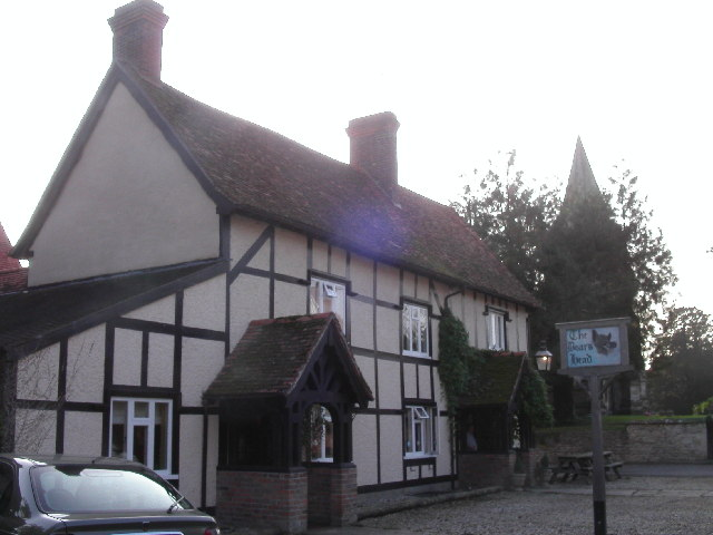 The Boar's Head pub, Ardington