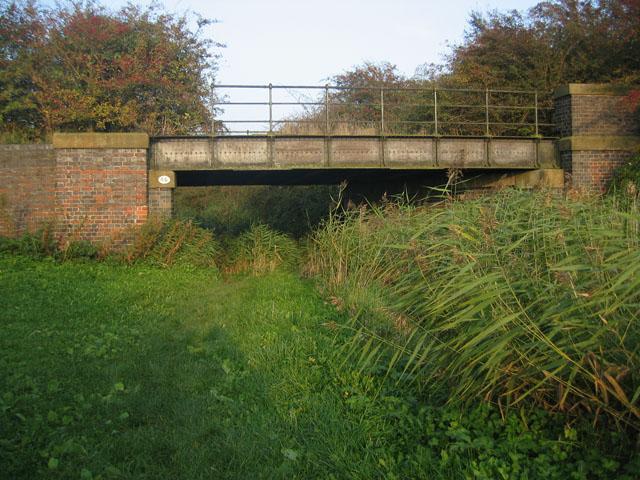Old railway bridge, near Plungar