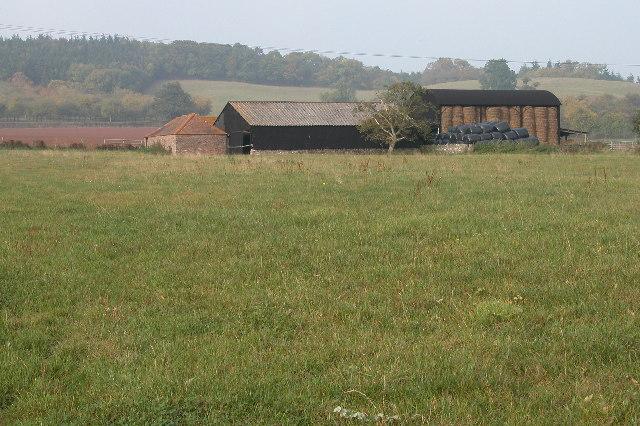 Farm Buildings near Upleadon Court